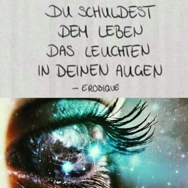 Universum im Auge